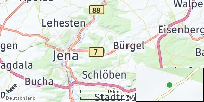 Google Map of Großlöbichau