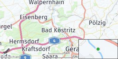 Google Map of Bad Köstritz