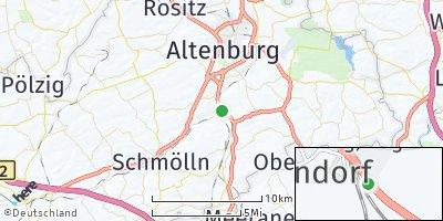 Google Map of Saara bei Schmölln