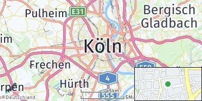 Google Map of Köln