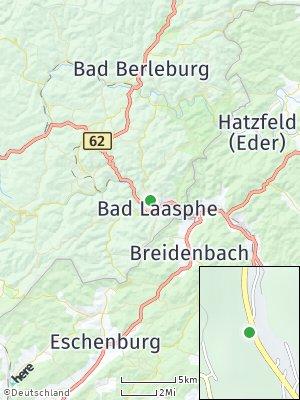 Here Map of Bad Laasphe