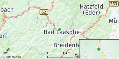 Google Map of Bad Laasphe