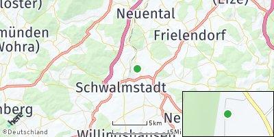 Google Map of Schwalmstadt