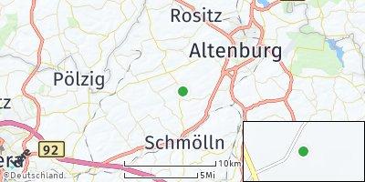 Google Map of Altkirchen bei Schmölln