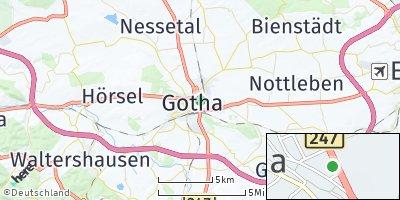 Google Map of Gotha