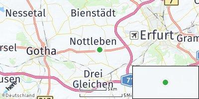 Google Map of Gamstädt
