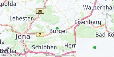 Google Map of Bürgel