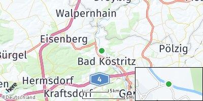 Google Map of Silbitz