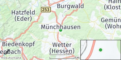 Google Map of Münchhausen