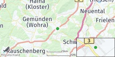 Google Map of Gilserberg