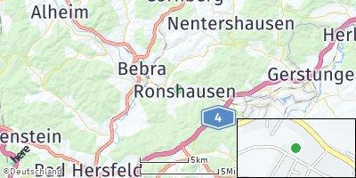 Google Map of Ronshausen