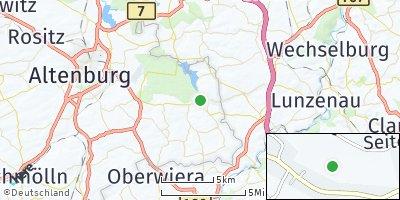 Google Map of Langenleuba-Niederhain