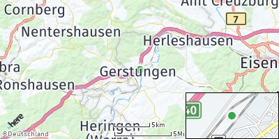 Google Map of Gerstungen