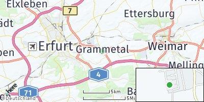 Google Map of Mönchenholzhausen