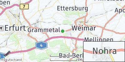 Google Map of Nohra