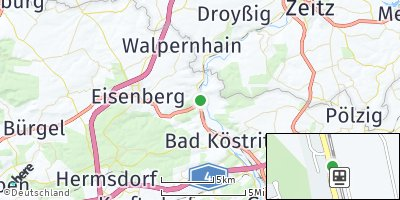 Google Map of Hartmannsdorf
