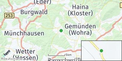 Google Map of Rosenthal