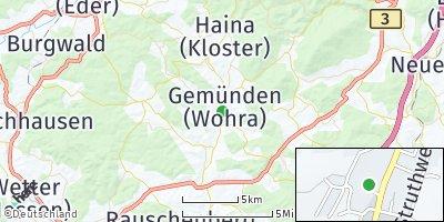 Google Map of Gemünden