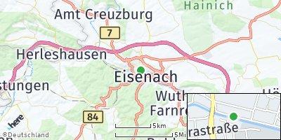 Google Map of Eisenach