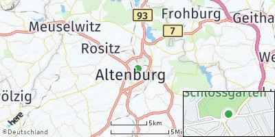Google Map of Altenburg