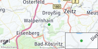 Google Map of Wetterzeube