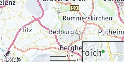 Google Map of Bedburg