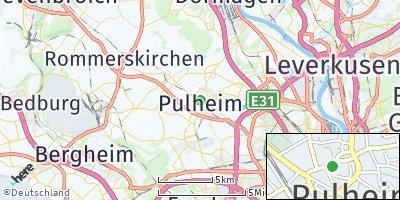 Google Map of Pulheim