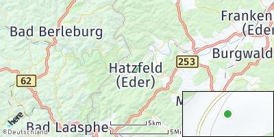 Google Map of Hatzfeld