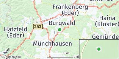 Google Map of Burgwald