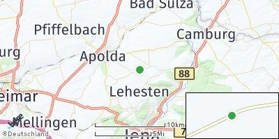 Google Map of Saaleplatte