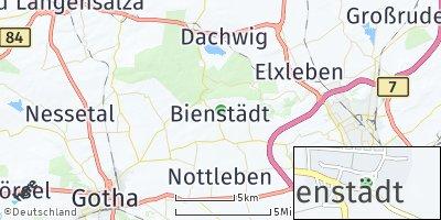 Google Map of Bienstädt