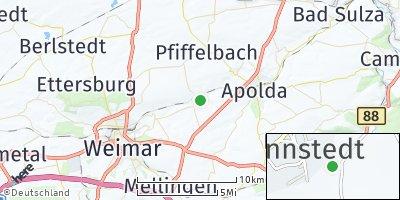 Google Map of Oßmannstedt