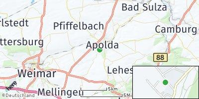 Google Map of Apolda