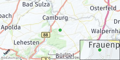 Google Map of Frauenprießnitz