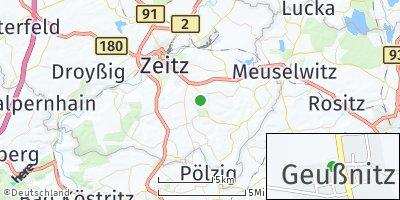 Google Map of Geußnitz