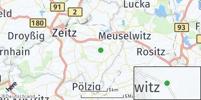 Google Map of Würchwitz
