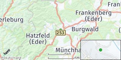 Google Map of Battenberg