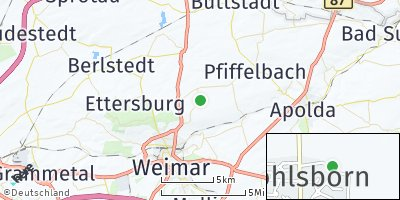 Google Map of Wohlsborn