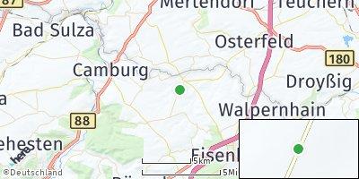 Google Map of Schkölen bei Eisenberg