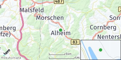 Google Map of Alheim