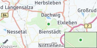 Google Map of Gierstädt / Kleinfahner