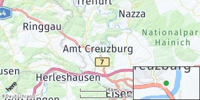 Google Map of Creuzburg
