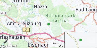 Google Map of Berka vor dem Hainich