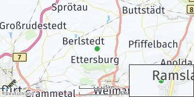 Google Map of Ettersburg