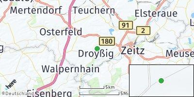 Google Map of Droyßig