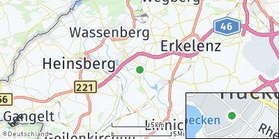 Google Map of Hückelhoven