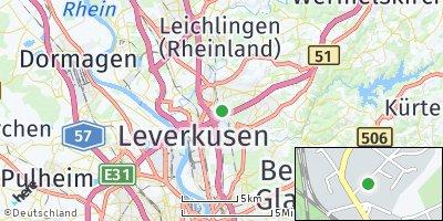 Google Map of Leverkusen