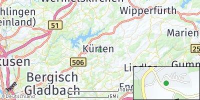 Google Map of Kürten