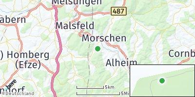 Google Map of Morschen