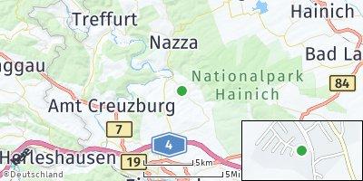 Google Map of Lauterbach bei Eisenach